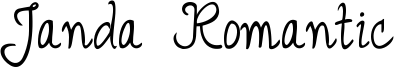Janda Romantic Font