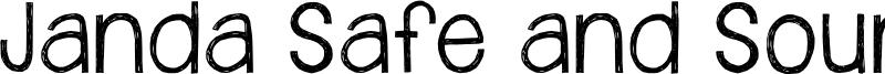 Janda Safe and Sound Font