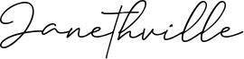 Janethville Font
