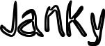 Janky Font