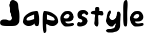 Japestyle Font