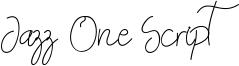 Jazz One Script Font