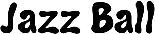 Jazz Ball Font
