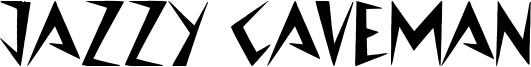 Jazzy Caveman Font