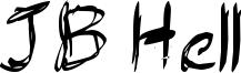 JB Hell Font