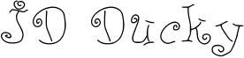 JD Ducky Font