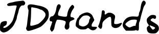 JDHands Font