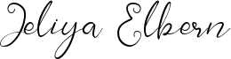 Jeliya Elbern Font