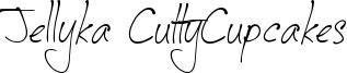 Jellyka CuttyCupcakes Font