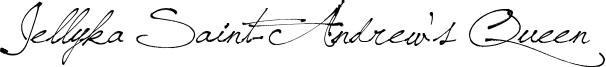Jellyka Saint-Andrew's Queen Font