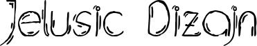 Jelusic Dizajn Font