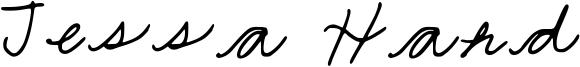 Jessa Hand Font