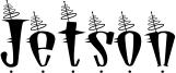 Jetson Font