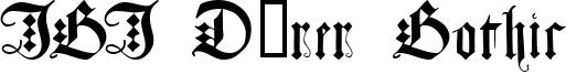 JGJ Dürer Gothic Font