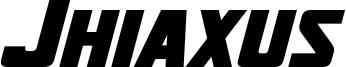 Jhiaxus Bold Italic.otf