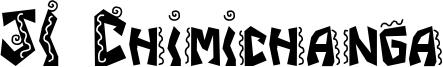 JI Chimichanga Font