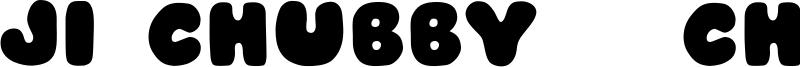 JI Chubby / Chunky Caps Font