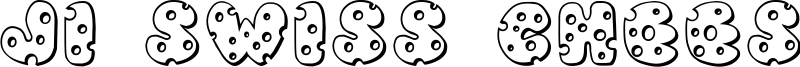 JI Swiss Cheese Font