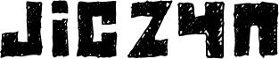 Jiczyn Font