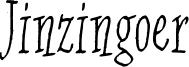 Jinzingoer Font