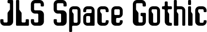 JLS Space Gothic Font