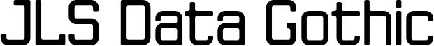 JLSDataGothicR_NC.otf