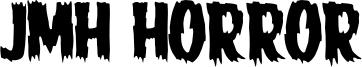 JMH Horror Font