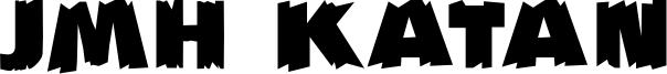JMH Katan Font