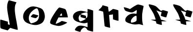 Joegraff Font