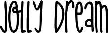 Jolly Dream Font