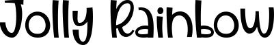 Jolly Rainbow Font