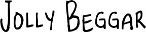 Jolly Beggar Font