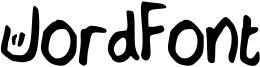 JordFont Font