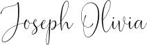 Joseph Olivia Font