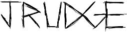 Jrudge Font