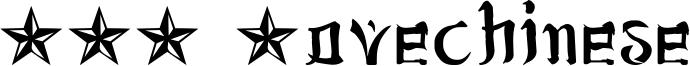 JSA Lovechinese Font