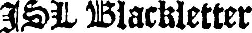JSL Blackletter Font