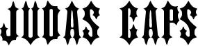 Judas Caps Font