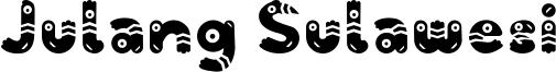 Julang Sulawesi Font