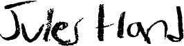 Jules Hand Font