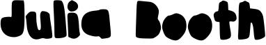 Julia Booth Font
