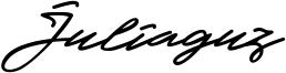 Juliaguz Font