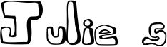 Julie's Font