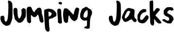 Jumping Jacks Font