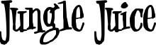 Jungle Juice Font