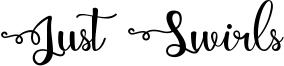 Just Swirls Font
