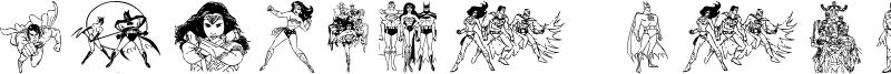 Justice League Font