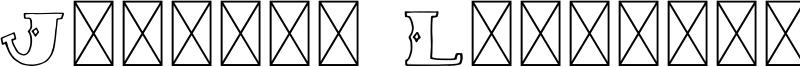 Justina Lettering Font