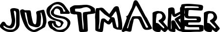 JustMarker Font