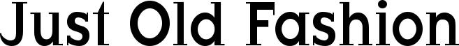 JustOldFashion-Condensed.ttf